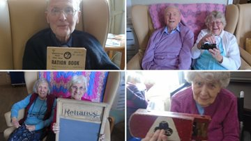 A trip down memory lane for Penrith care home
