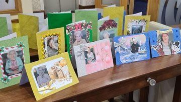 Pudsey care home Residents send personalised Christmas cards to their loved ones