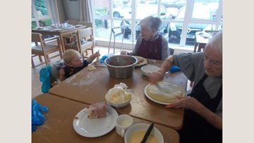 Residents get baking at Greenways Court