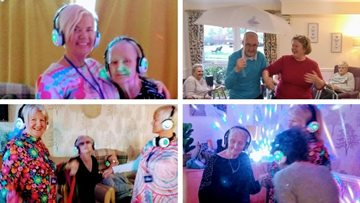 Musical moments at Uddingston care home