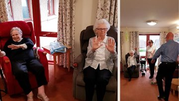 Dunfermline care home Residents enjoy daily Qigong practice