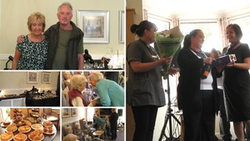 Town Mayor attends Beaconsfield Court care home event