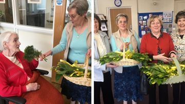 St David's Church brightens up Residents' day at Pencoed care home
