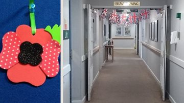 Stockton on Tees care home Remembers