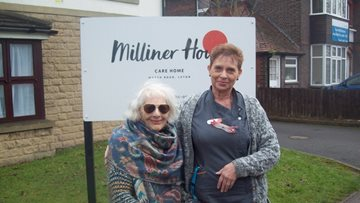 Resident at Milliner House conquers fears