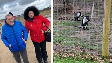 Eckington care home takes a walk on the wild side at Yorkshire Wildlife Park