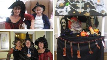 Spooktacular celebrations at Honiton care home
