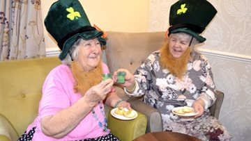 St Patrick's Day at Aston House