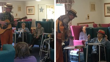 Acoustic performance at Blackburn care home
