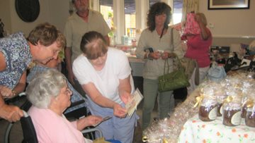 Bankwood Care home enjoys some Summer Fayre fun