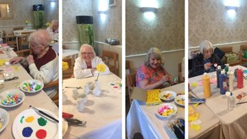 Eggciting Easter competition at Airedale care home