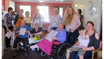 Care Home Open Day at Cradlehall