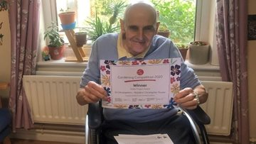 A blooming success for St Christophers care home in HC-One gardening competition
