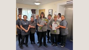 Kindness in care celebrated at Fazakerley House
