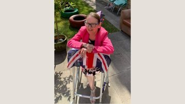Oldham care home celebrate the 75th anniversary of VE Day