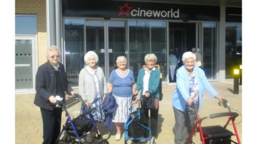 Residents attend dementia friendly screening