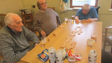 Alexander Court Residents enjoy Gents Afternoon