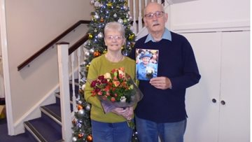Sparks fly at Boston care home as it celebrates Resident's diamond wedding anniversary