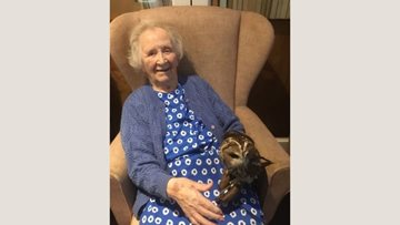Residents have owl the fun at Gittisham Hill House