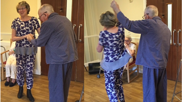 Silverwood Residents enjoy a Pyjama Party