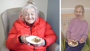 Pancake Day proves hit at Aston House