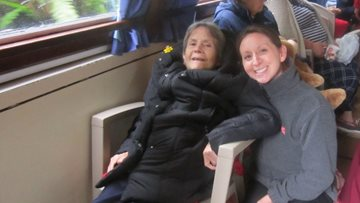 All aboard! Dudley care home Residents enjoy barge trip