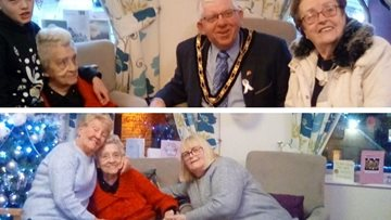 100th birthday celebrations at Beeston care home