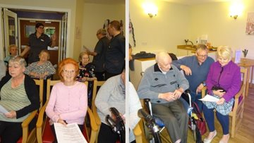 Residents are hitting the right notes in Glenrothes care home choir