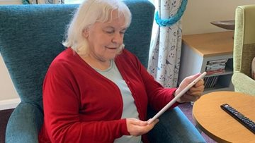 Eckington care home help Residents keep in touch with family