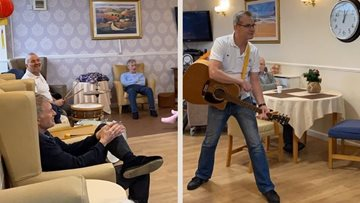 Music in Mind at Bankhouse care home