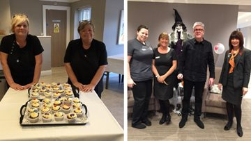 Jesmond care home welcomes community for Halloween spook-tacular