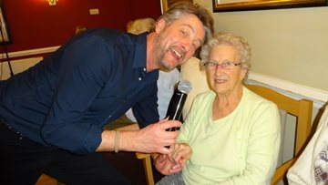 Willow Court Residents enjoy an afternoon Sing-along