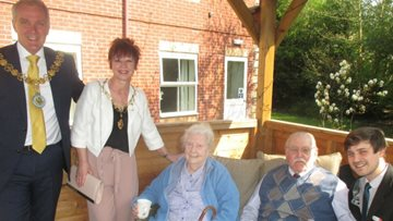 Mayor visits local care home open day