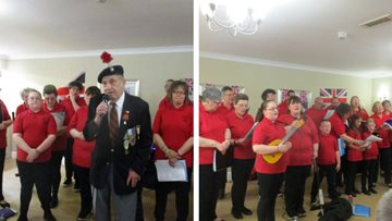 Remembering D-Day at Guisborough care home
