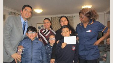 Ilford care home enjoys visit from local church
