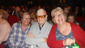 Warrington care home Residents visit local theatre
