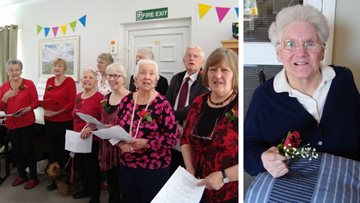 Sweet Melody Singers perform at Penrith care home