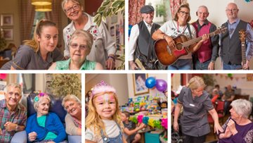Community enjoys annual summer party at care home