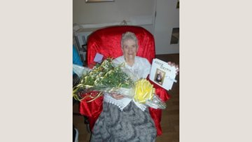 Resident at Ash Grange celebrates 15 years in care home