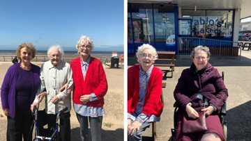 Huddersfield care home enjoys summer trip to Blackpool