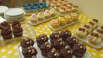 Care home hosts charity Cupcake Day
