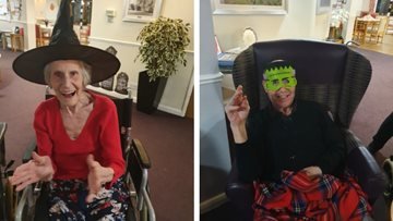 Spooktacular celebrations for Coalville care home