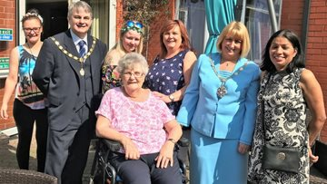Mayoress joins Callands for Care Home Open Day