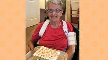 Appleton Lodge Resident celebrates 83rd Birthday