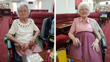 Doncaster care home Residents have a blast at bingo