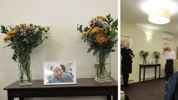 Forfar care home pays tribute to former Resident