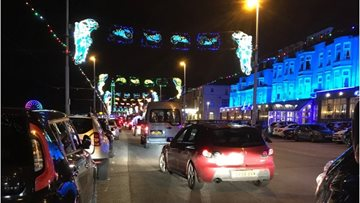Bankhouse visit the Blackpool Illuminations