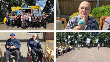 Sports day success at Dukinfield care home