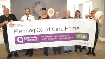 Newcastle Care Home Enjoys Success in CQC Report