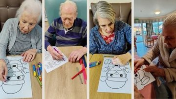Watford care home react to 'Wellbeing Matters Newsletter'